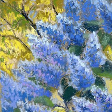 Blue Lilacs. Springtime by kira-culufin