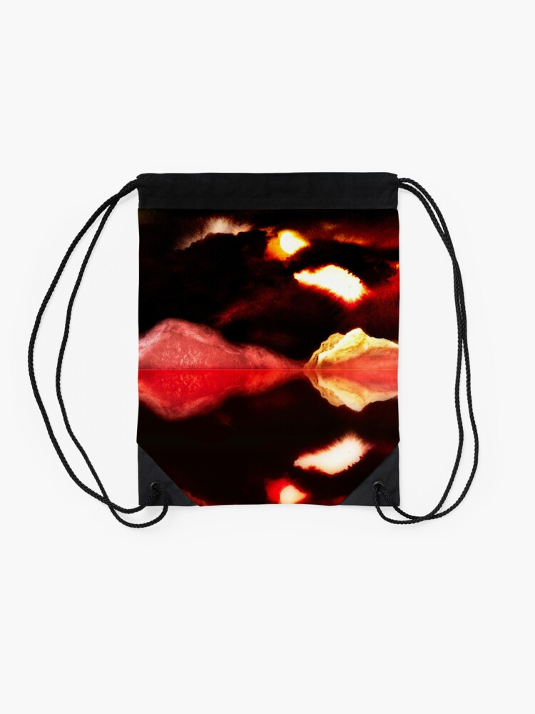 Alternate view of Highland Lake Drawstring Bag