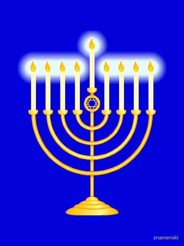 #Hanukkah #menorah, #chanukiah, #hanukkiah, #מנורת חנוכה, #menorat, #ḥanukkah,  #menorot, #Hebrew by znamenski