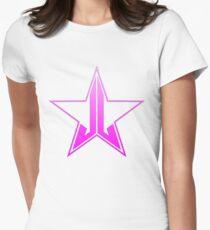 JEFFREE STAR COSMETICS LOGO Women's Fitted T-Shirt