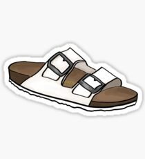 White Birkenstock Sticker
