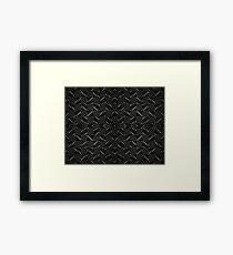 Steel Matrix Framed Print