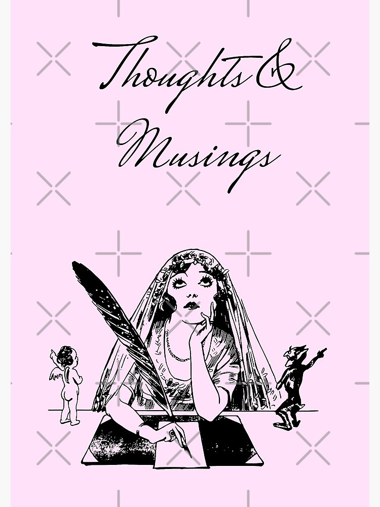 Thoughts and Musings Vintage Style Journal by GhostlyWorld