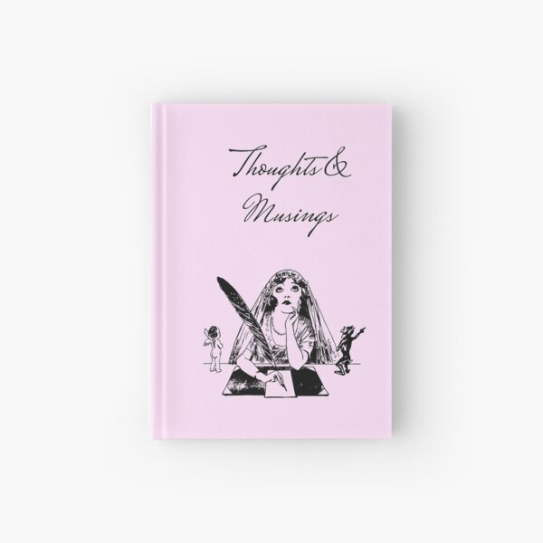 Thoughts and Musings Vintage Style Journal Hardcover Journal