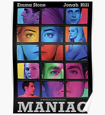 Maniac Show Poster Poster