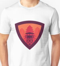 Watchtower Shield- Firewatch edition 2 Unisex T-Shirt