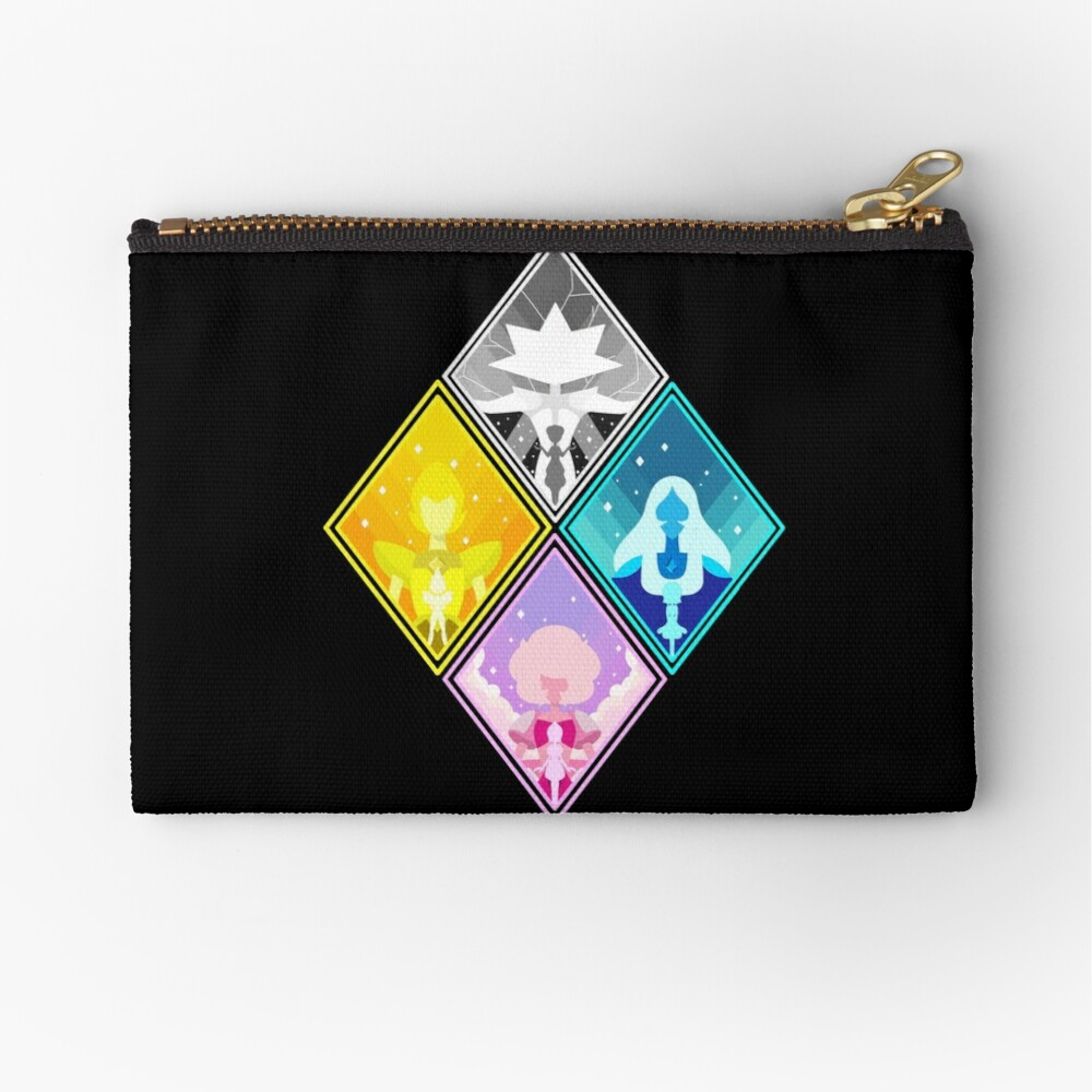 The Great Diamond Authority  Zipper Pouch