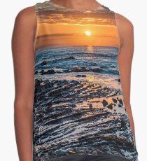 Sunrise over the ocean Sleeveless Top