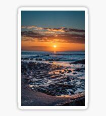 Sunrise over the ocean Sticker