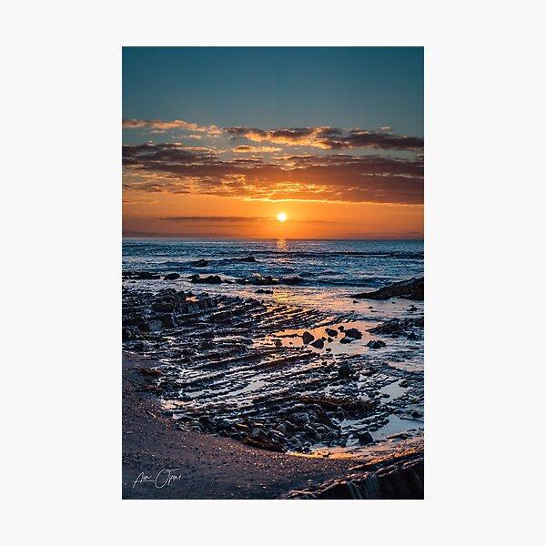Sunrise over the ocean Photographic Print