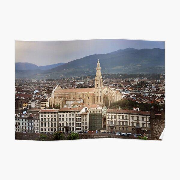 Basilica of Santa Croce Poster