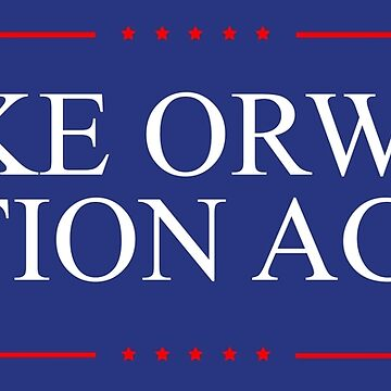 Make Orwell Fiction Again Shirt by IntrepiShirts