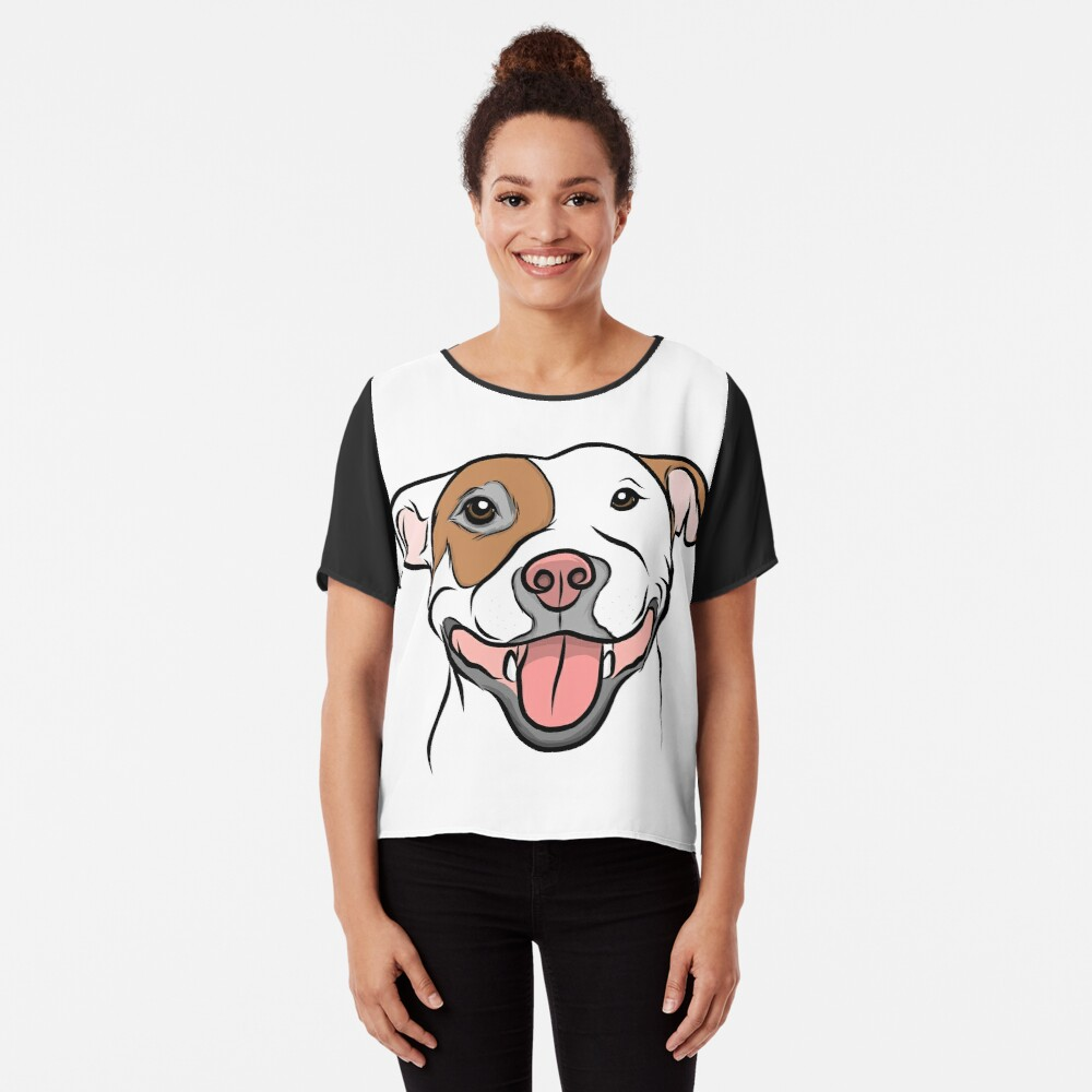 Happy Go Lucky Pit  Chiffon Top