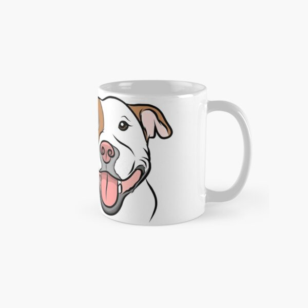 Happy Go Lucky Pit  Classic Mug