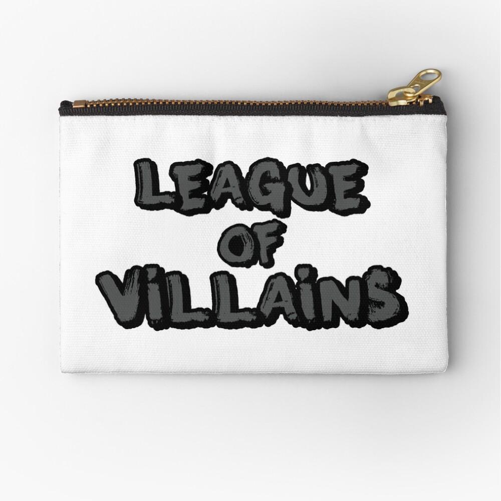 League of Villains (gris) Bolsos de mano