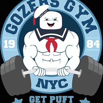 Gozers Gym Get Puft Stay Puft by KURTUSMAXIMUS