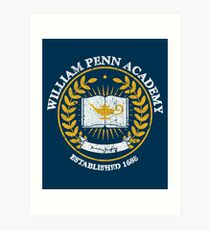 William Penn Academy Art Print
