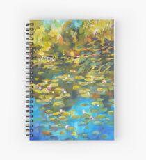 Koala Street Lily Pond Spiral Notebook