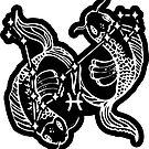 Pisces Zodiac by Daniel Watts