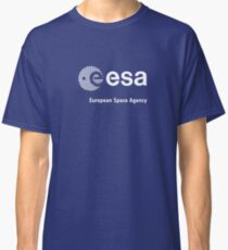 European Space Agency (ESA) [+ Left Chest Logo] Classic T-Shirt