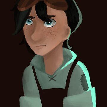 Evil Little Scientist Dude by ArtsyMeg