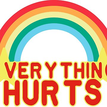 Everything Hurts by diosore