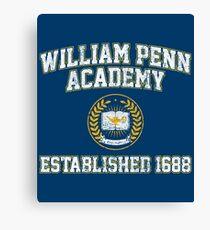 William Penn Academy Est. 1688 - The Goldbergs Canvas Print