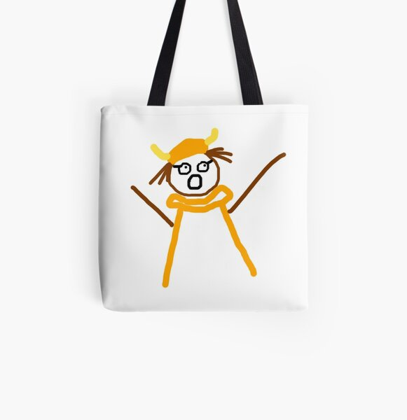 Jenny Quips:  Opera! All Over Print Tote Bag