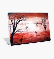 Crimson Skies Laptop Skin