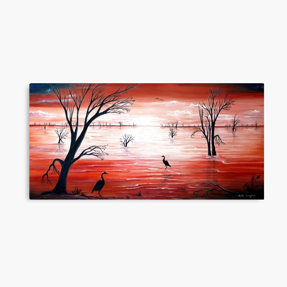 Crimson Skies Canvas Print