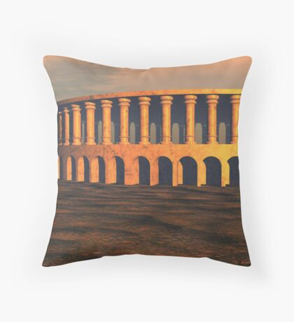 Ancient Dream Musical Tree , P.A.Woods Throw Pillow