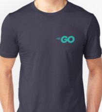 Go - Golang (Aqua) Unisex T-Shirt