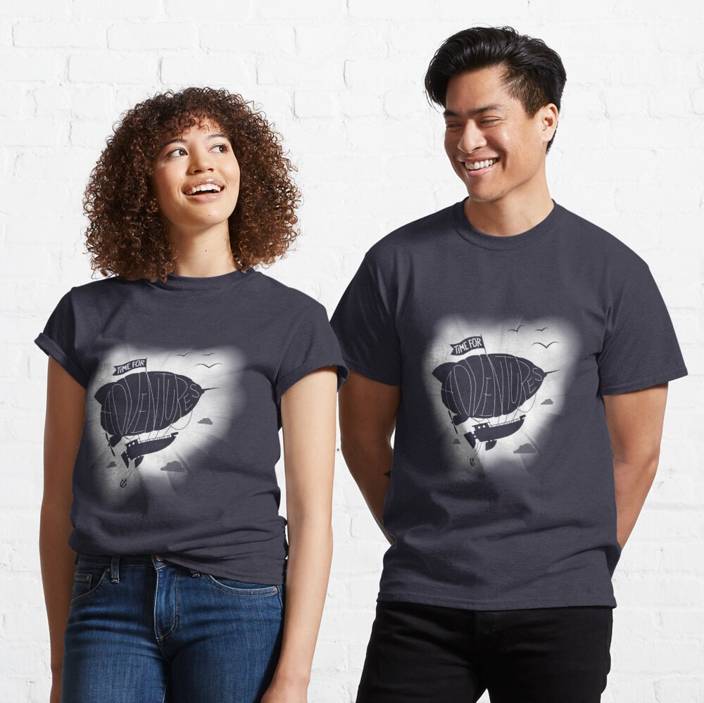 Time for Adventures in the sky Classic T-Shirt
