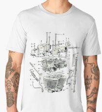 Triumph Head  Men's Premium T-Shirt