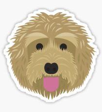 Golden Labradoodle  Sticker