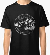 I Hate People Funny Hiking Design Classic T-Shirt