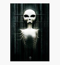 Giger Tribute: Entity Photographic Print