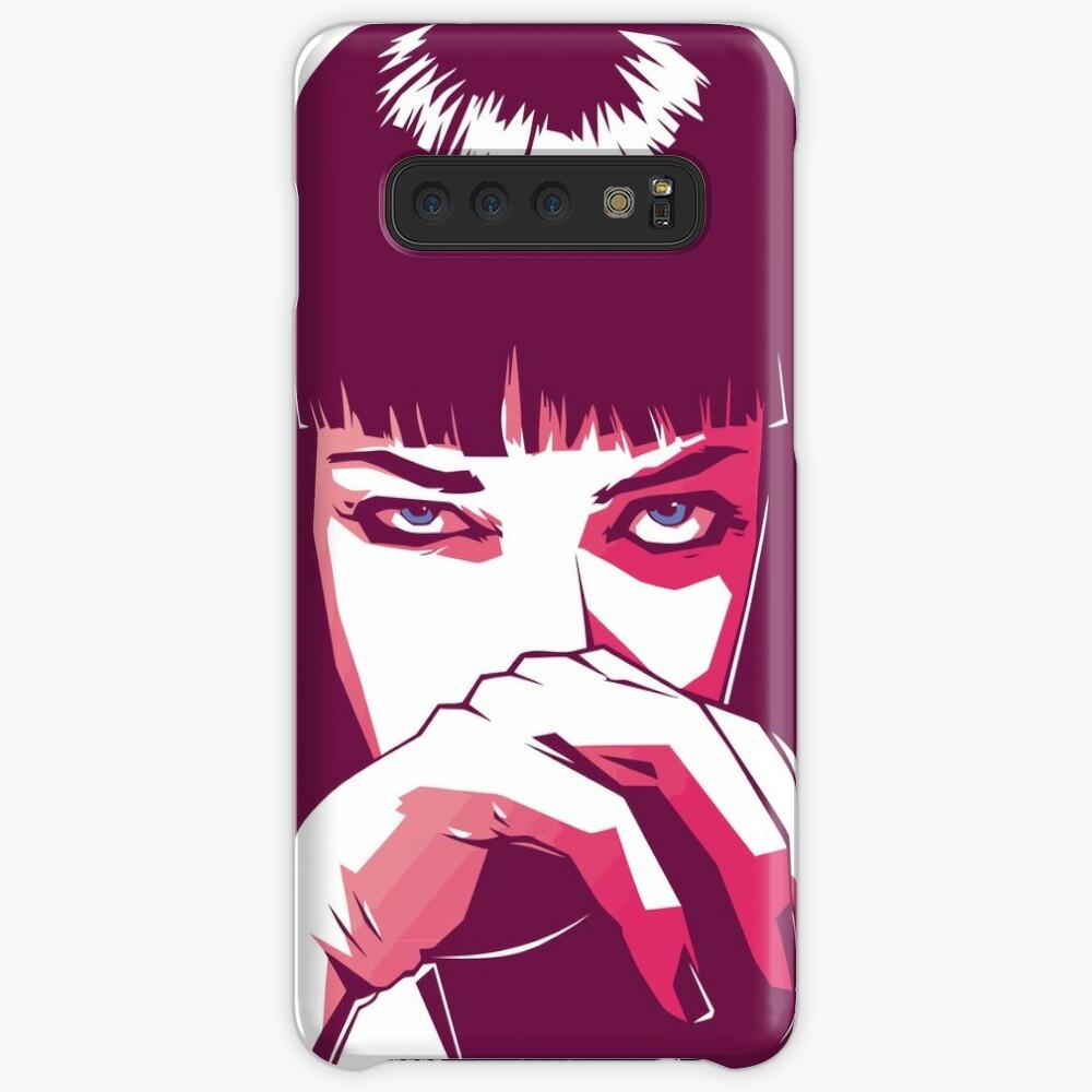 Mia Wallace Hülle & Klebefolie für Samsung Galaxy