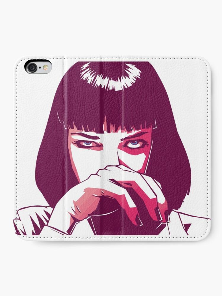 Alternative Ansicht von Mia Wallace iPhone Flip-Case