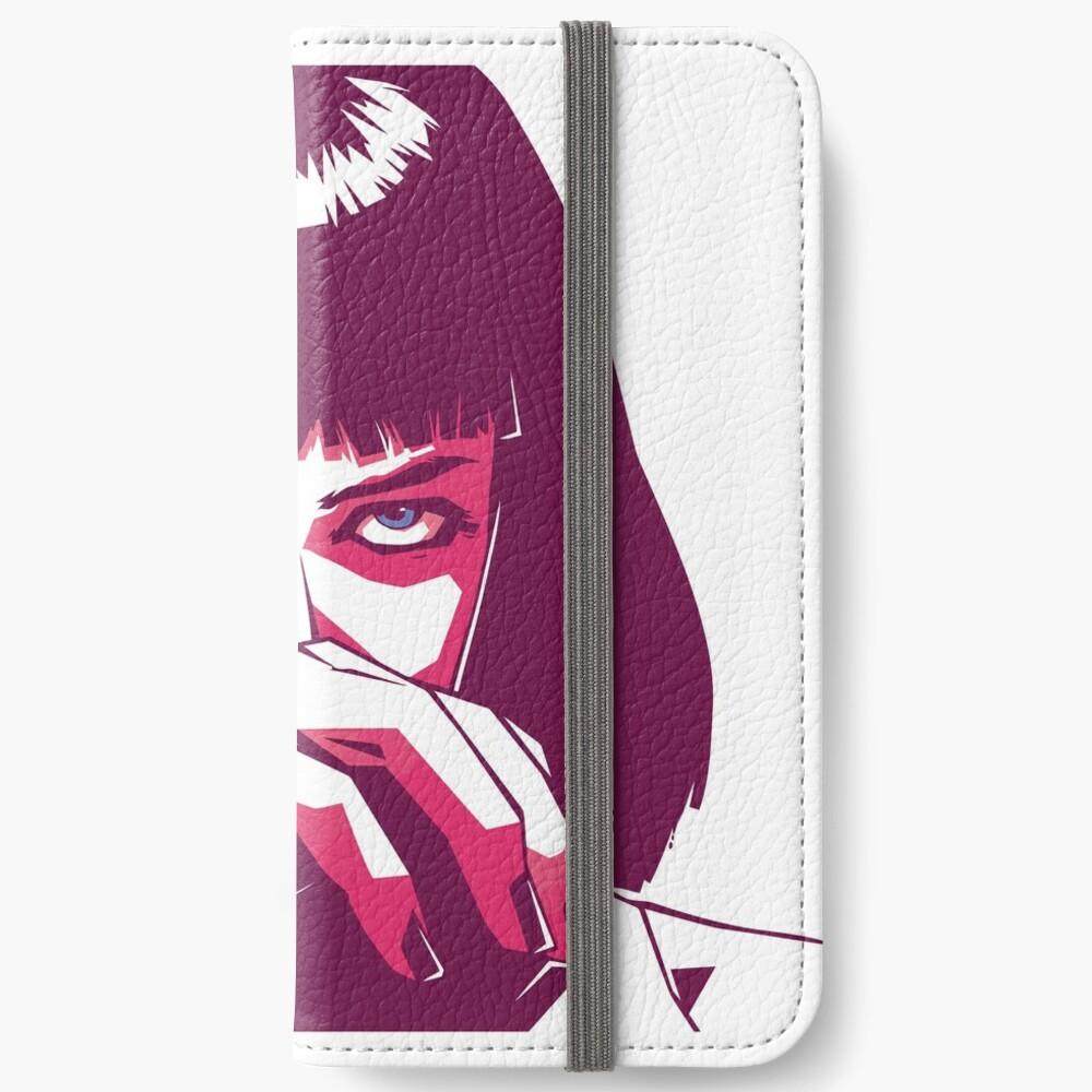 Mia Wallace iPhone Flip-Case