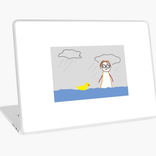 Jenny Quips:  It Rained for 40 days Laptop Skin