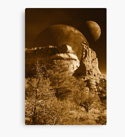 Spirit Rock Canvas Print