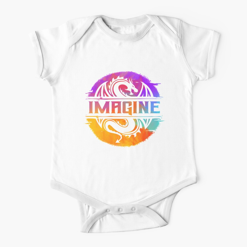 Imagine Dragon Evolve Baby Onesies Long Sleeve Cotton Bodysuit for Baby Boys Girls