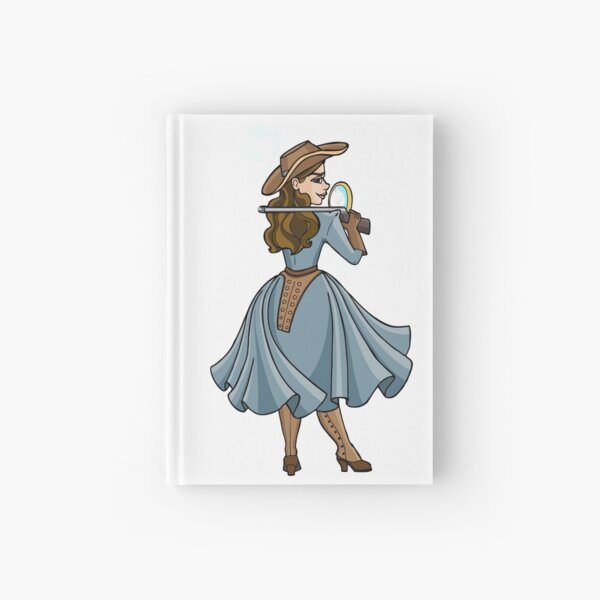 Annie Oakley - Annie get your gun! Hardcover Journal