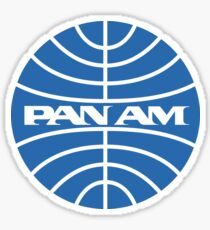 PAN AM Airlines Sticker