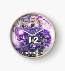 Real Madrid Clock