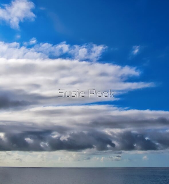 Clouds Out To Sea by Susie Peek