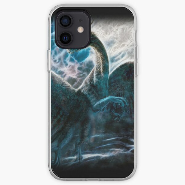 Saphira The Dragon From The Hit Eragon Movie iPhone Soft Case
