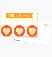 Pokemon GO Ultra Friend Postcards