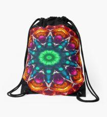 Colour Delight Kaleidoscope 04 Drawstring Bag
